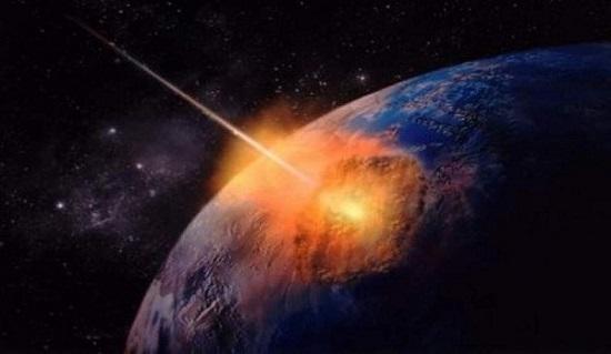 Метеорит впервые попал в человека