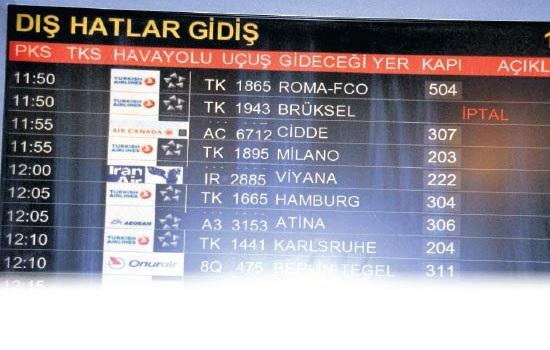 Turkish Airlines приостановили полеты в Брюссель