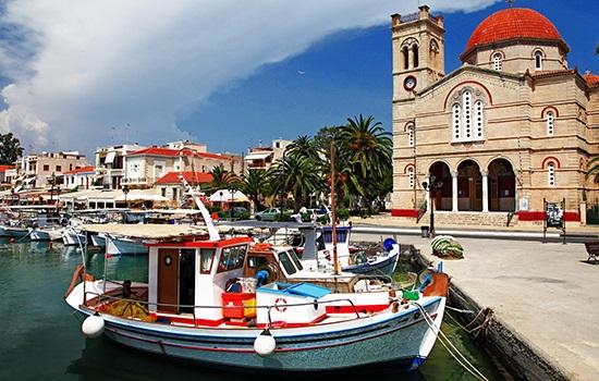 Эгина - необъятное историческое прошлое и красивые девственные пейзажи Греции