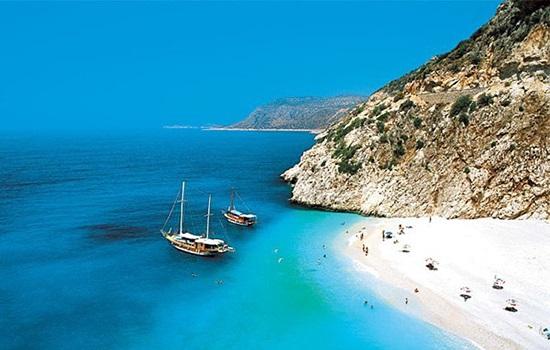 Песчаные пляжи Турции на Средиземном море