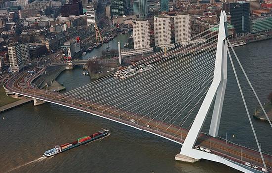 Роттердам — крупнейший порт в Европе