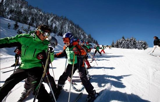 Горнолыжные курорты Андорры обустроены самыми передовыми пушками насыпного снега