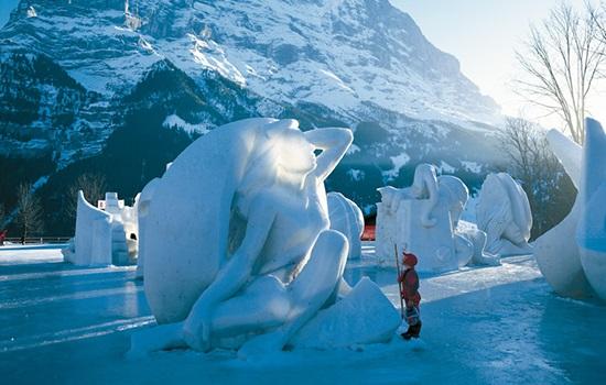 Гриндельвальд – это очень уютный швейцарский курорт