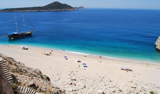Пляж Турции Капуташ