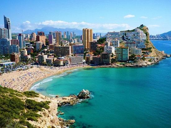 вашему самый лучший город в испании особенно заметно при