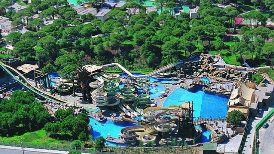 Белек: аквапарк «Троя» - река увлекательных впечатлений