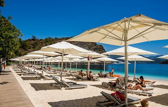 Датча отличается от людных и шумных курортов Турции