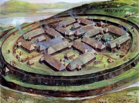 Новости из Дании. Для туристов впервые открыта крепость викингов