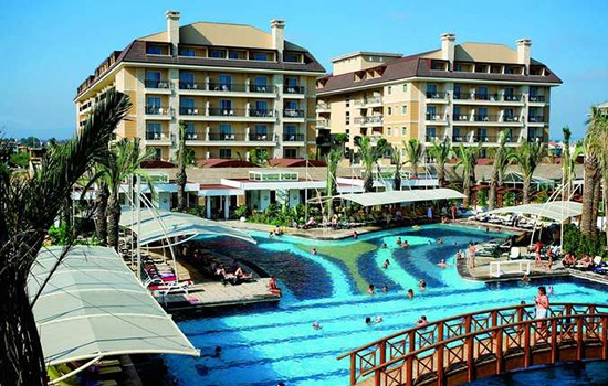 Турецкий рай Белека в отеле Кристалл