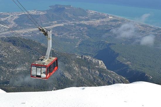 Гора Тахталы - визитная карточка курорта Кемер