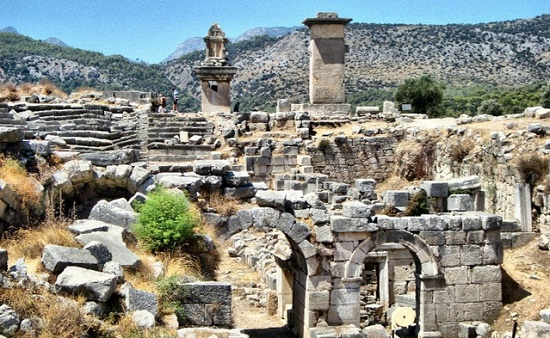 Археологические раскопки древней Трои