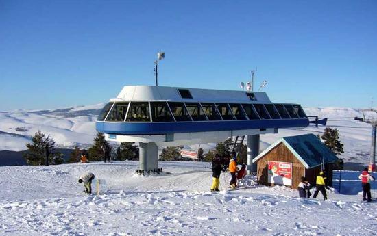 Сарыкамыш - шикарный горнолыжный курорт Турции