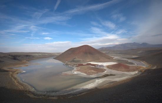 Абсолютное чудо природы - Кратер Мекке Тузласы Гёлю с озером