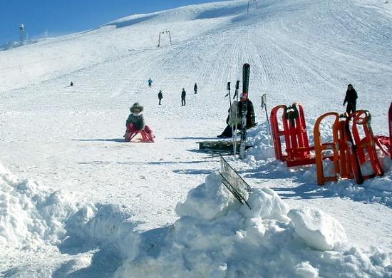 Лыжный центр Эльмадаг вблизи Анкары - любимое место местных жителей