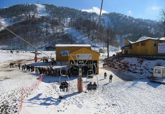 Картепе - малоизвестный горнолыжный курорт Турции