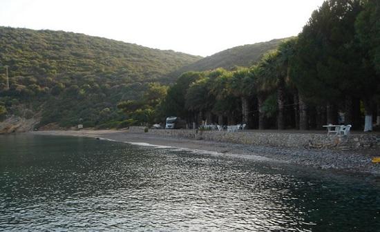 Тихая бухта Бонжук в Мармарисе