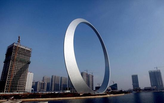 Кольцо жизни в городе Фушунь – прекрасное место в Китае
