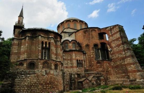 Монастырь Хора или Музей Карие - собрание старинных фресок и мозаик, в Турции