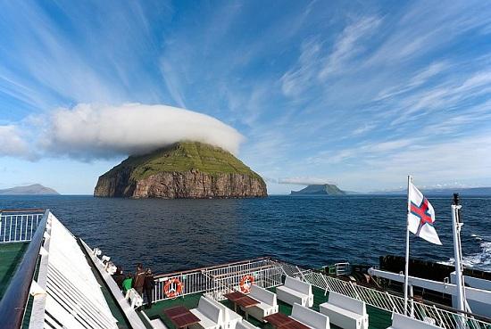 Остров Луйтла-Дуймун - уникальное место, где отдыхают сами облака