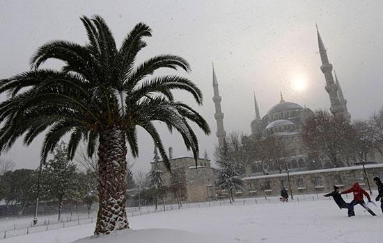 Стамбул погода в декабре