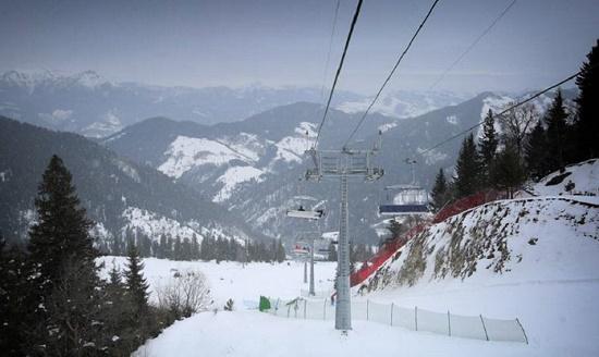 В Грузии открыли историческую горнолыжную трассу Митарби