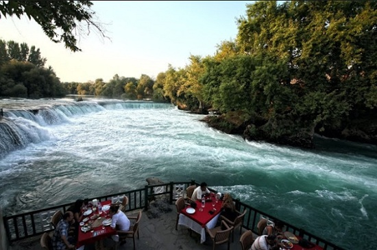 Кафе Selalе - захватывающие пейзажи реки Манавгат