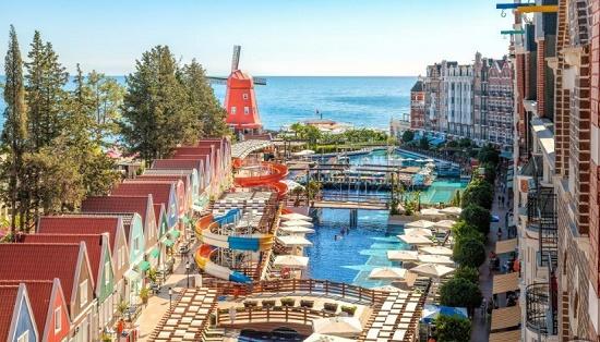 Orange County Resort Hotel в Кемере – копия Амстердамской Солнечной набережной