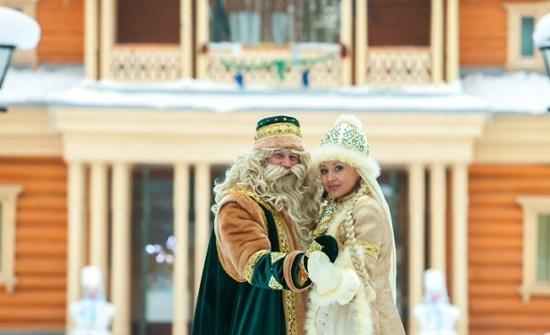 В Татарстане открылась шикарная усадьба Деда Мороза