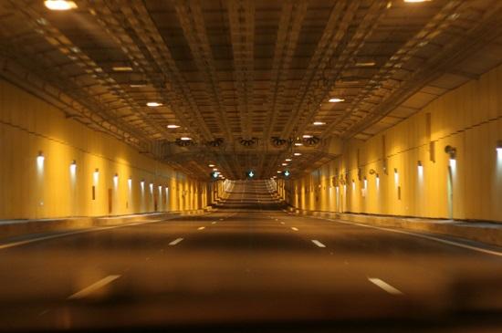 Эрдоган открыл автомобильный тоннель под Босфором