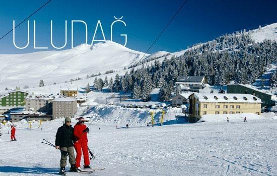 Зимние каникулы в горнолыжном курорте Улудаг