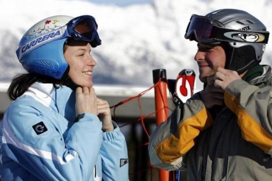 Отправляясь в горы, не забудьте лыжный шлем