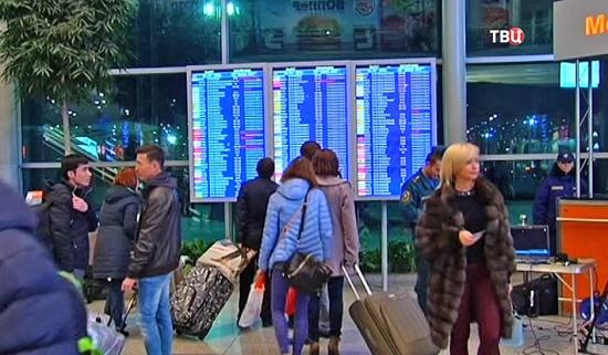 Российские туристы вынуждены продлить отдых в Турции из-за непогоды