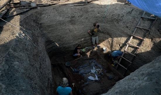 Гробницу времен династии Мин обнаружили вКитайской республике