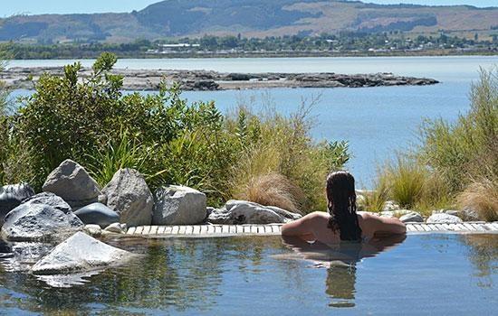 Почувствуйте тепло в Роторуа Новой Зеландии!