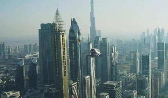 Летом 2017 года на улицах Дубая появятся такси-дроны