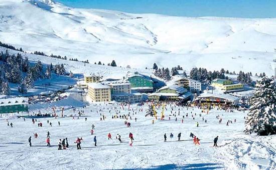 Улудаг — горнолыжный курорт, окруженный «зеленой» Турцией