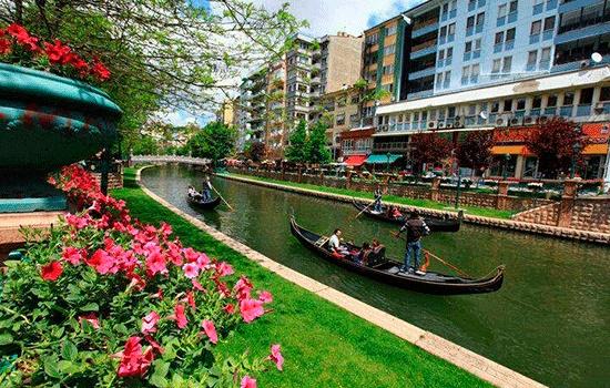 Центральный город Анатолии - Эскишехир является обязательным пунктом посещения для местных и иностранных туристов