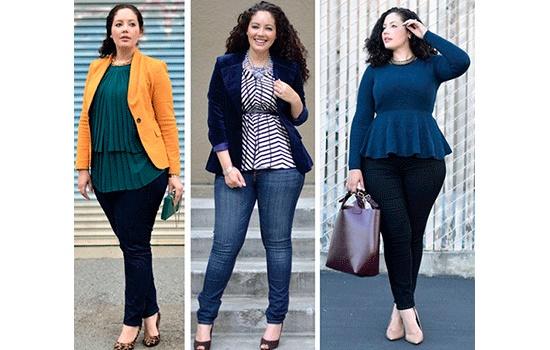 Красивая мода может быть и для пышных дам!