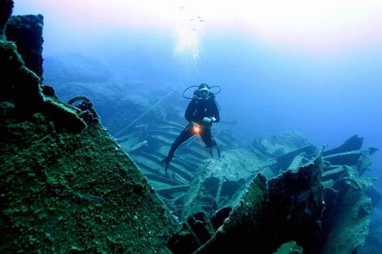 Пять цивилизаций на затонувшем корабле