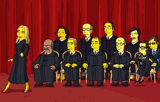 """Короткометражный анимационный мультфильм """"Симпсоны"""", посвященный 100 дням правления Трампа, можно увидеть в Интернете"""