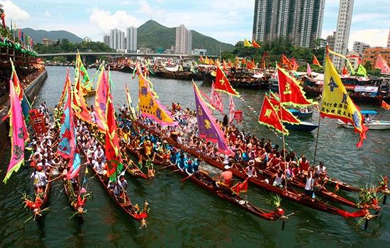 Фестиваль лодок-драконов будет пройдет в Гонконге в начале июня