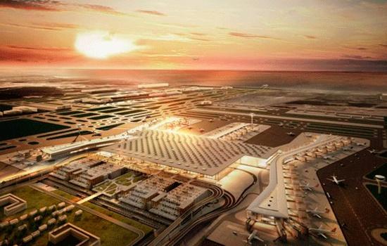 Новый аэропорт Стамбула будет открыт к 2018 году