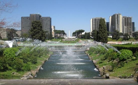 В Риме открыли парк, который был на реставрации с 1961 года