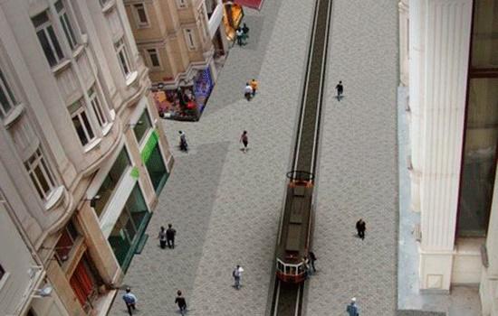 Проспект Истикляль Стамбула реконструируют