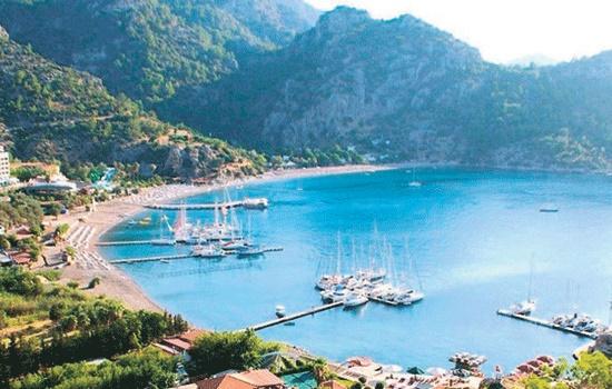 Мармарис - одно из самых ценных мест отдыха на Эгейском море