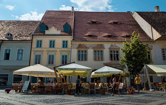 Сибиу, Румыния, - город, в котором дома не спят