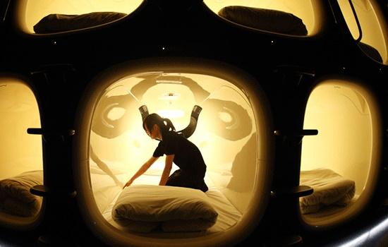 Лучшие капсульные отели в Японии: страшный сон клаустрофоба