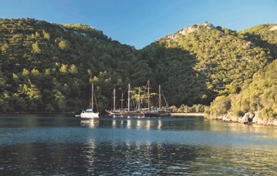 Рай на земле в южной Турции