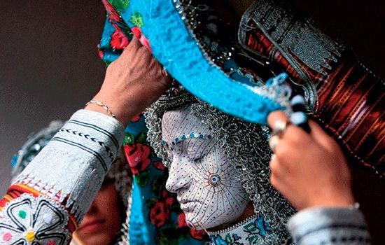 Традиционный свадебный макияж в Косово интригует туристов и ученых