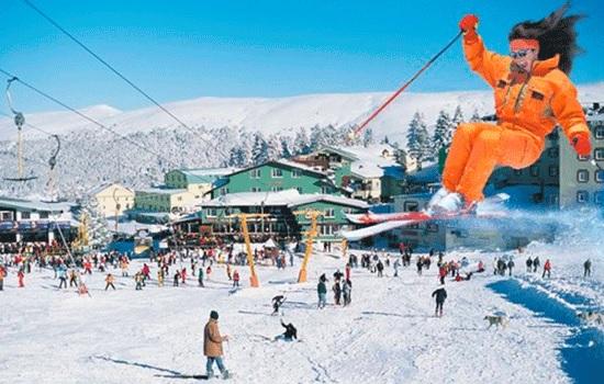 Самый популярный отдых зимой - горнолыжные курорты Турции